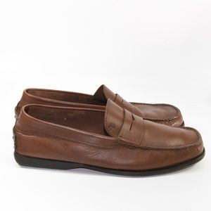 TOD'S Men Loafers in Leather Size 8